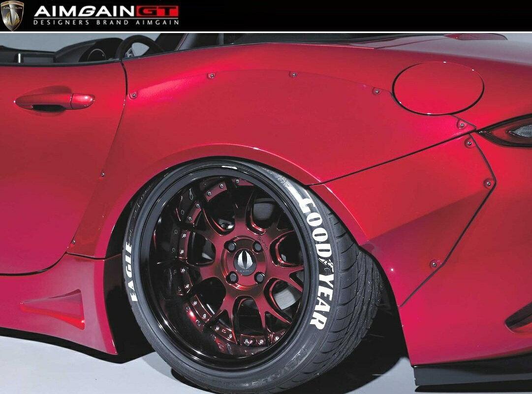 【M's】 マツダ ND ロードスター リア オーバー フェンダー / AIMGAIN GT / エイムゲイン エアロ // リヤ ワイドフェンダー / MAZDA ND5RC ROADSTER MX-5 / rear wide fender over