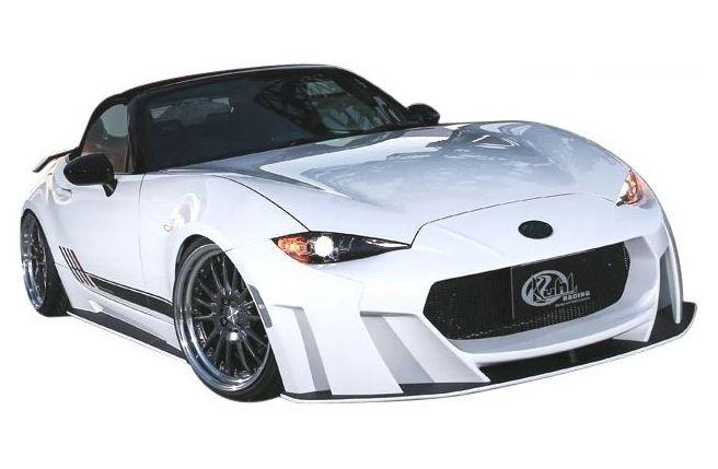 【M's】マツダ ロードスター ND5 エアロ 5点 セット KUHL RACING // フロント & リア バンパー / F & R ディフューザー / サイドステップ / クール レーシング 新型 MAZDA ROADSTER ND