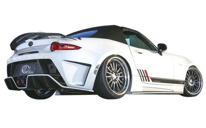 【M's】マツダ ロードスター ND5 リア バンパー KUHL RACING エアロ // リヤ R スポイラー / クール レーシング / MAZDA ROADSTER ND 5