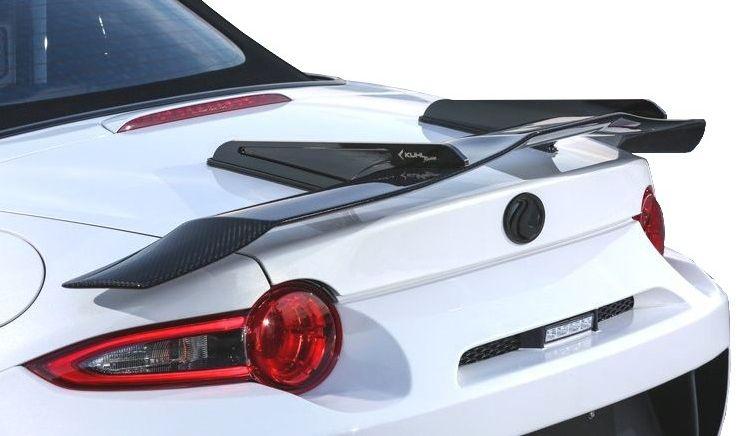 【M's】マツダ ロードスター ND5 スワンネック GT ウイング KUHL RACING エアロ // リア R リヤ ウィング / クール レーシング / MAZDA ROADSTER ND 5