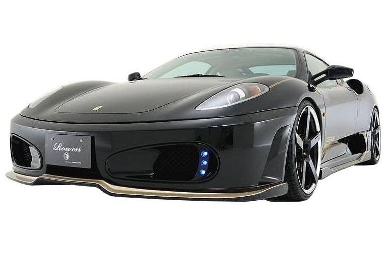 【M's】 フェラーリ F430 フロント スポイラー FRP / ROWEN/ロエン エアロ // リップ アンダー ハーフ / FRONT SPOILER 1F001A00 / Ferrari F430 F430S 4.3 F1 COUPE SPIDER