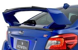 【M's】SUBARU WRX STI トランク スポイラー / ROWEN/ロエン エアロ// PREMIUM Edition TRUNK SPOILER / スバル CBA-VAB / 1S006T00