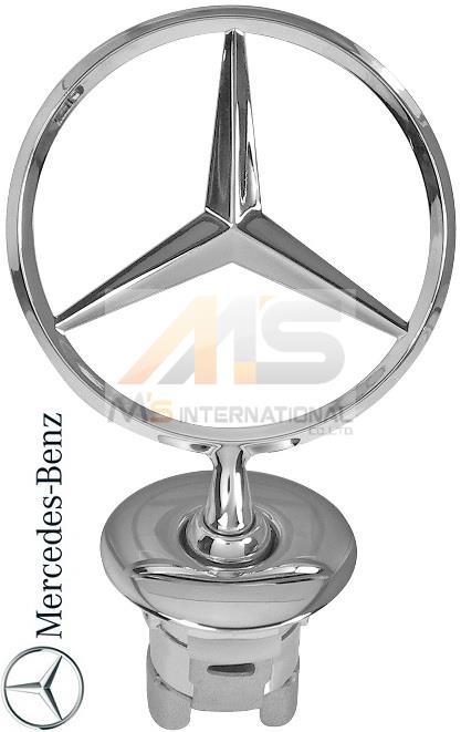 【M's】W221 ベンツ AMG Sクラス(2005y-2013y)純正品 フロントスターマスコット//ボンネットフードマスコット S350 S400 S500 S550 S600 S63 S65 221-880-0086 2218800086