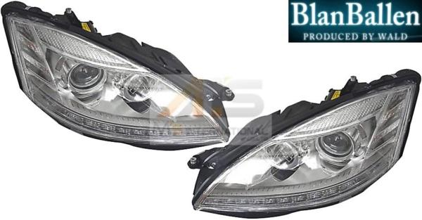 【M's】W221 ベンツ AMG Sクラス 前期(2005y-2009y)BlanBallen製 後期(10y-)LOOK バイキセノン ヘッドライト Ver.2(左右)//純正OEM S350 S500 S550 S600 S63 S65 ブランバレン WALD ヴァルド
