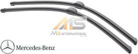 【M's】W221 ベンツ AMG Sクラス(2005y-2013y)純正品 フロント ワイパーブレード 2本/左右(右ハンドル用)//正規品 S350 S500 S550 S600 S63 S65 221-820-0945 2218200945