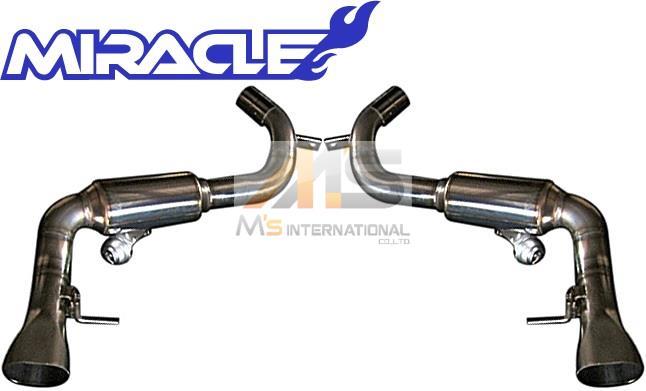 【M's】W217 メルセデスベンツ Sクラスクーペ S550(V8)MIRACLE製 可変リアマフラー//ステンレス ミラクル C217 S217 CL217 3582 リモコン付 可変マフラー 新品
