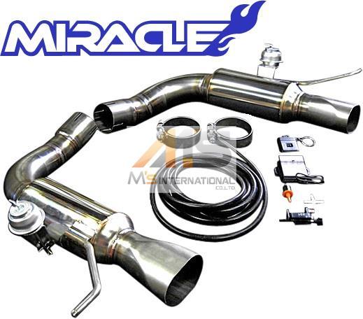 【M's】R230 AMG SLクラス SL65 BLACK_SERIES(V12)MIRACLE 可変リアマフラー//2630 C230 SL230 ブラックシリーズ ミラクル オールステンレス 可変マフラー エキゾースト 日本製 新品