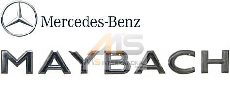 【M's】X222 メルセデス マイバッハ S550 S600(2015y-)純正品 MAYBACH リア トランクエンブレム//W222 MERCEDES-MAYBACH ベンツ Sクラス 正規品 222-817-3300 2228173300