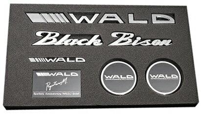 【M's】WALD ブラックバイソン エンブレムセット Type1//Black Bison ベンツ BMW アウディ ポルシェ ロールスロイス ベントレー マセラティ ランドローバー ジャガー レクサス トヨタ ニッサン