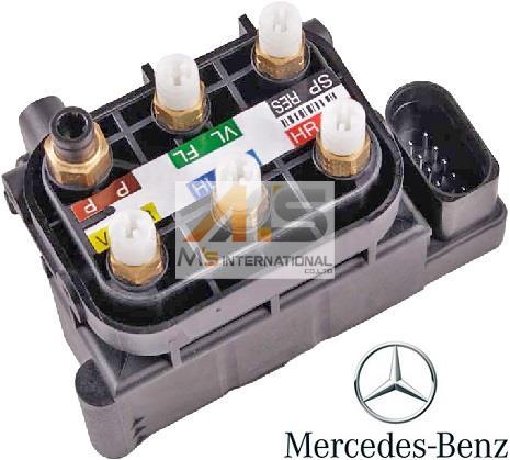 【M's】W218 ベンツ AMG CLSクラス(2011y-)純正品 エアサスコントロール バルブブロック//正規品 エアサスバルブブロック C218 X218 CLS350 CLS550 CLS63 212-320-0358 2123200358