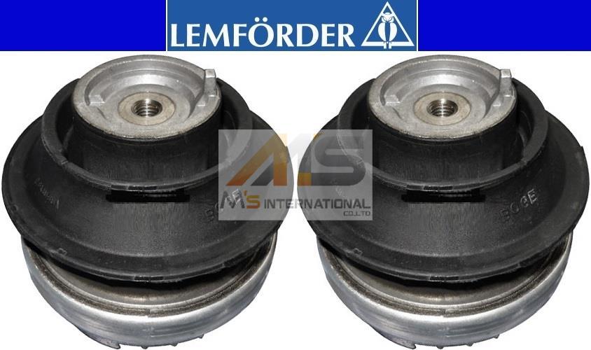 【M's】W211 Eクラス/W219 CLSクラス LEMFORDER製・他 エンジンマウント(2個)//純正OEM CLS350 E250 E320 E350 E500 E550 ラバーマウント レムフォーダー 211-240-2617 2112402617