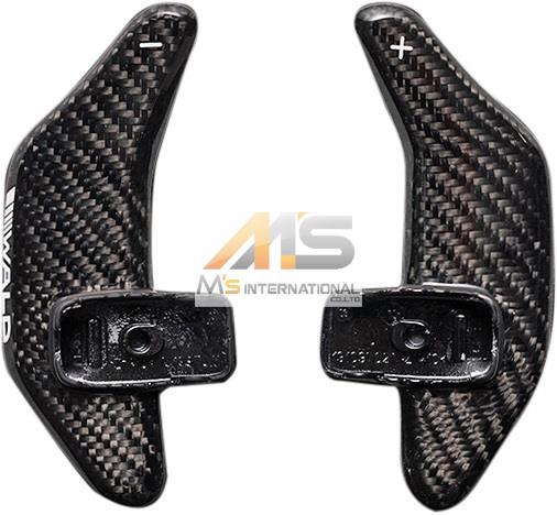 【M's】W222 W217 ベンツ AMG Sクラス(2013y-)WALD カーボンパドルシフト(左右/1SET)//受注生産 ヴァルド バルド CABON C217 クーペ ロング ショート S300h S400h S550 S600 S63 S65