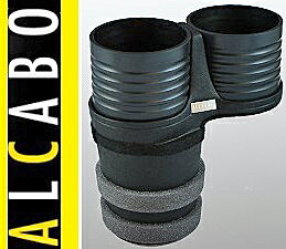 【M's】W213 Eクラス(2016y-)/W447 Vクラス(2015y-)/X253 GLCクラス(2016y-) ALCABO 高級 ドリンクホルダー(ブラック)/ベンツ AMG S213 C238 A238 E200 E220 E250 E300 E400 E43 E63 V220 GLC200 GLC220d GLC250 GLC350 GLC43 アルカボ カップホルダー AL-B107B ALB107B