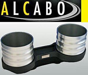 【M's】W463 ベンツ AMG Gクラス 後期用(2012y-)ALCABO 高級 ドリンクホルダー(シルバー)//G350 G550 G63 G65 ゲレンデ アルカボ カップホルダー AL-M314S ALM314S
