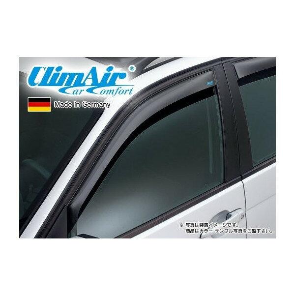 【M's】VW ゴルフ6(09y-13y)5ドア用 climAir社製 フロント ドアバイザー (左右) //フォルクスワーゲン クリムエアー 400804 前 F ウィンドウ 新品