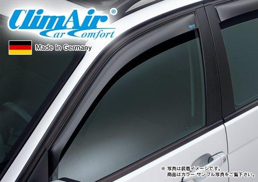 【M's】AUDI アウディ Q2 GA(2017y-)climAir製 フロント ドアバイザー (左右) // BENZ クリムエアー 400061 前 F ウィンドウ 新品