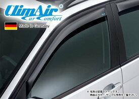 【M's】VW ポロ 9N(02y-09y)3ドア用 climAir社製 フロント ドアバイザー (左右) // フォルクスワーゲン Polo クリムエアー 400723 前 F ウィンドウ 新品