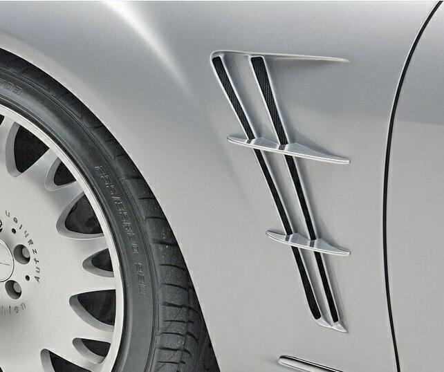 【M's】W221 ベンツ AMG Sクラス(05y-13y)WALD スポーツフェンダーダクト V1//ヴァルド バルド フェンダー エアロ ロング/ショート S350 S500 S550 S600 S63 S65 純正交換タイプ ブラックバイソン SPORTS LINE Black Bison Edition エグゼクティブ Executive
