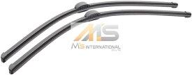 【M's】W216 ベンツ AMG CLクラス(2006y-2014y)純正品 フロント ワイパーブレード 2本/左右(左ハンドル用)//正規品 C216 CL550 CL600 CL63 CL65 221-820-0845 2218200845