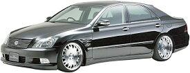 【M's】TOYOTA クラウン アスリート GRS180 後期(H17.10-H20.1)WALD サイドステップ(左右)//FRP製 ヴァルド バルド エグゼクティブライン Executive LINE エアロ トヨタ CROWN ATHLETE ゼロクラウン ZEROクラウン 18クラウン