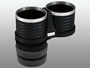 【M's】トヨタ クラウン S210系(2012y-)ALCABO 高級 ドリンクホルダー(ブラック+リング)//TOYOTA CROWN 210系 アルカボ カップホルダー AL-T108BS ALT108BS