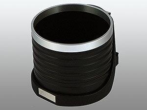 【M's】トヨタ プリウス(ZVW30)ALCABO 高級 ドリンクホルダー(ブラック+リング)//TOYOTA PRIUS 30系 アルカボ カップホルダー インパネ対応 AL-T115BS ALT115BS