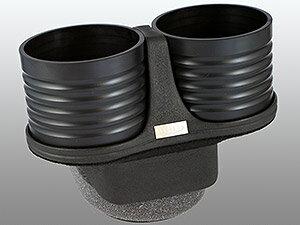 【M's】トヨタ プリウス 30系(ZVW30)ALCABO ドリンクホルダー(ブラック カップタイプ)//アルカボ カップホルダー 黒 TOYOTA PRIUS プリウス30 AL-T116B ALT116B