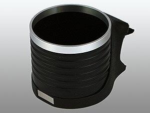 【M's】トヨタ クラウン S200系(2008y-2012y)ALCABO 高級 ドリンクホルダー(ブラック+リング)//TOYOTA CROWN 200系 アルカボ カップホルダー AL-T111BS ALT111BS