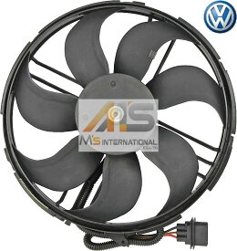 【M's】VW ポロ 6N(1999y-2001y) ルポ 6X/6E(1998y-2005y) 純正品 ラジエター電動ファン//正規品 クーリングファン ブロアファン 冷却ファン アディショナルファン POLO LUPO フォルクスワーゲン Volkswagen 6N0-959-453P 6N0959453P