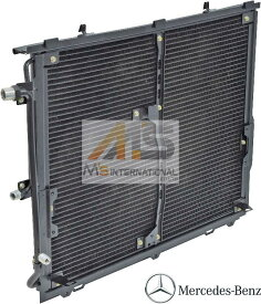 【M's】W140 ベンツ Sクラス (1991y-1998y) 正規純正品 エアコン コンデンサー 正規品 ACコンデンサー AMG セダン クーペ S280 300SE S320 400SEL 500SE 500SEL S500 S500L 600SE 600SEL S600 S600L-7.0 140-830-0570 1408300570