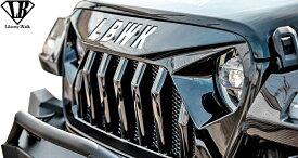 【M's】 ジープ ラングラー (JL) LB-WORKS FAIRLINE フロントグリル // FRP 未塗装 Liberty Wark リバティーウォーク リバティウォーク Jeep Wrangler エアロキット エアロセット エアロ パーツ カスタム