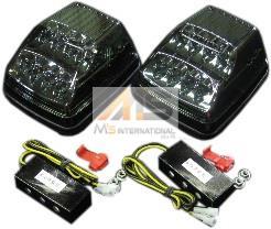 【M's】W463 ベンツ AMG Gクラス ゲレンデ フロント LEDウィンカー(スモーク)/W461 W460 G463 230GE 300GE G320 G350 G500 G550 G36 G55 G63 G65 エムズ ブラック 新品 3228