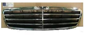 【M's】W203 ベンツ Cクラス セダン ワゴン 後期 05y- 純正品 ラジエターグリル アヴァンギャルドグリル 新品
