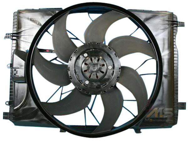 【M's】ベンツ W204 Cクラス/W212 W207 Eクラス/W218 CLSクラス/R172 SLKクラス 純正品 ラジエーターブロアASSY アデショナルファンモーター ラジエーターブロア電動ファンASSY ラジエーターファン ブロアファン新品 A204-500-0293 (A2045000293)