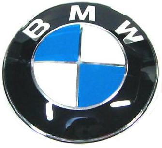 【M's】BMW E60 E61 E63 E64 E65 E66 E67 純正品 ボンネットバッチ エンブレム(82mm)新品