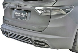 【M's】トヨタ ハリアー 60系 ZSU/AVU(H25.12-H29.5)WALD リアバンパースポイラー//ヴァルド バルド TOYOTA HARRIER SPORTS LINE Black Bison Edition FRP製