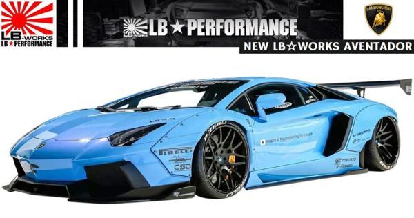 【M's】ランボルギーニ アヴェンタドール LB☆WORKS フルエアロセット/ワイドボディーキット ver.2 (6点)// Lamborghini Aventador リバティー フロント/サイド/リア 受注 エムズ 大人気 新品