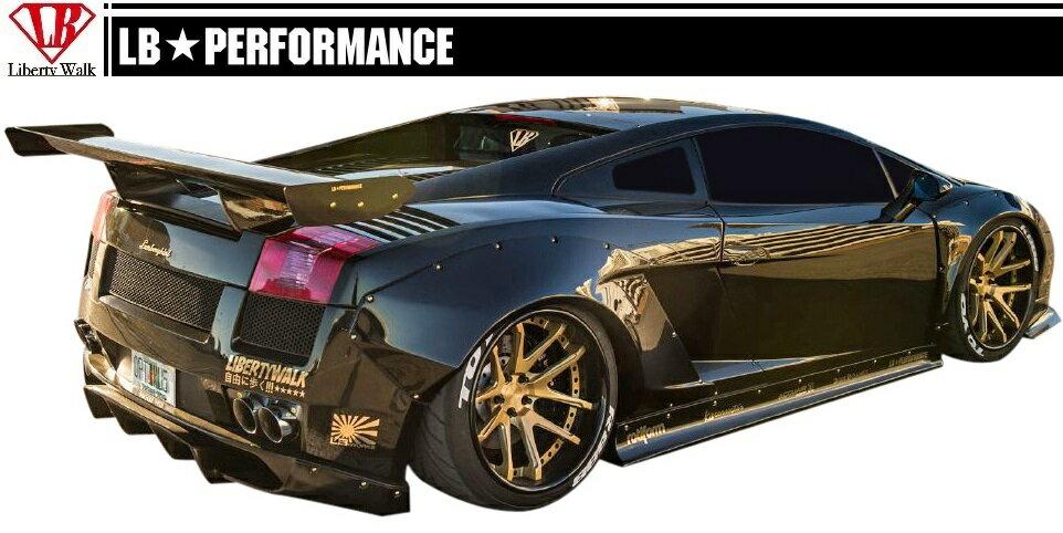 【M's】 ランボルギーニ ガヤルド LB☆PERFORMANCE エアロ リア ウイング Ver.2 // R GT ウィング / Lamborghini Gallard LB-WORKS Body kit リバティウォーク 新品