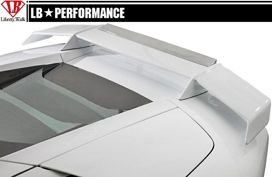 【M's】 ランボルギーニ ムルシエラゴ LB PERFORMANCE エアロ / リア ウイング Ver.1 // リヤ ウィング スポイラー / LB パフォーマンス / Lamborghini Murcielago Body kit FRP リバティウォーク