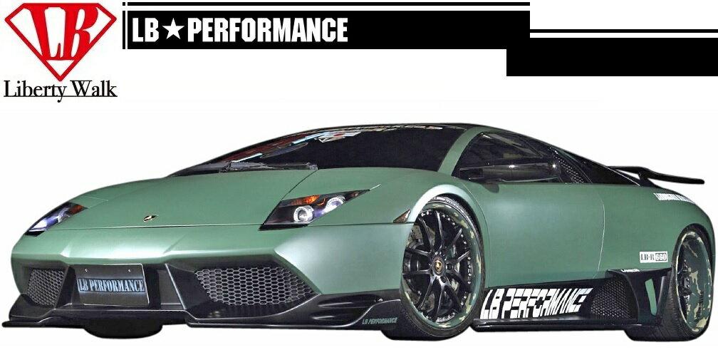 【M's】 ランボルギーニ ムルシエラゴ LB PERFORMANCE フル エアロ 7点 ボディキット Type.2 // フロント&リアバンパー/サイドスカート/Fカナード/S&Rディフューザー/リアウイングVer.3 / LB パフォーマンス / Murcielago Complete Body kit FRP リバティウォーク
