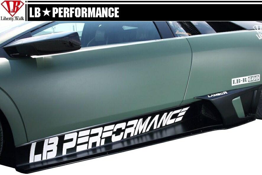 【M's】 ランボルギーニ ムルシエラゴ LB PERFORMANCE エアロ / サイド ディフューザー // S デフューザー / LB パフォーマンス / Lamborghini Murcielago Body kit FRP リバティウォーク