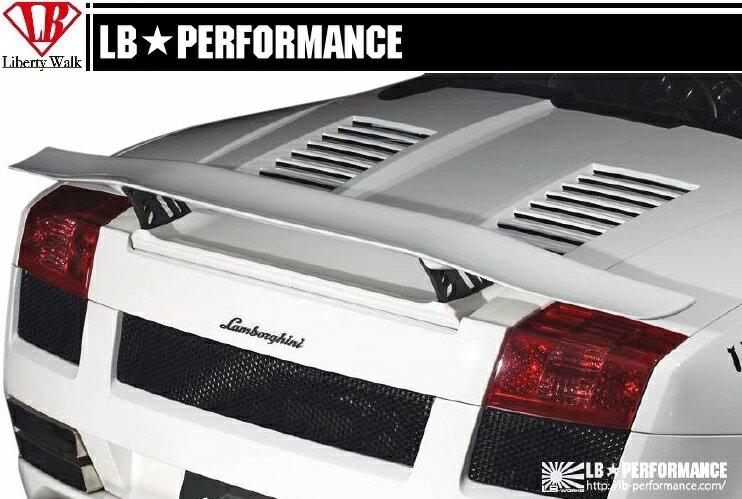 【M's】 ランボルギーニ ガヤルド LB パフォーマンス エアロ / リア ウイング Ver.3 // Lamborghini Gallard / リヤ ウィング / R スポイラー / LB-PERFORMANCE Complete Body kit FRP リバティウォーク
