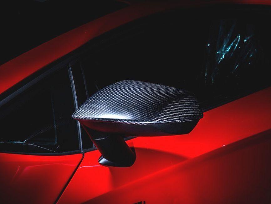 【M's】ランボルギーニ アヴェンタドール LP750-4 SV ドアミラー カバー カーボン / LEAP DESIGN/リープ デザイン / Lamborghini Aventador Super Veloce