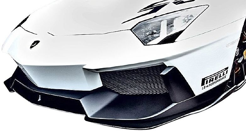 【M's】ランボルギーニ アヴェンタドール LB パフォーマンス エアロ フロント カナード // F ディフューザー/ LB☆WORKS / Lamborghini Aventador Body kit FRP リバティウォーク 単品