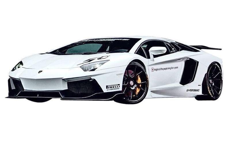 【M's】ランボルギーニ アヴェンタドール LB パフォーマンス フルエアロ 5点 ボディキット Type.1 // フロント バンパー&カナード /サイド&リア ディフューザー/リアウイング/ LB☆WORKS / Lamborghini Aventador Complete Body kit FRP リバティウォーク