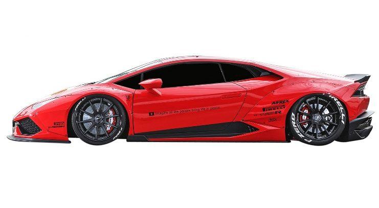 【M's】ランボルギーニ ウラカン LB☆WORKS サイドディフューザー // Lamborghini Huracan LB☆PERFORMANCE FRP Side Diffuser S デフューザー リバティウォーク