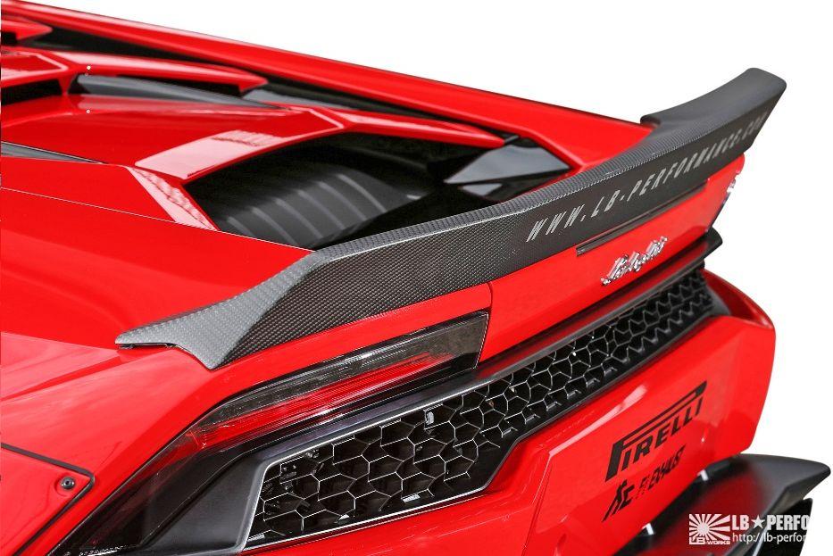 【M's】ランボルギーニ ウラカン LB☆WORKS リア ウイング Ver.2 // Lamborghini Huracan LB☆PERFORMANCE FRP Rear Wing リヤ ウィング リバティウォーク
