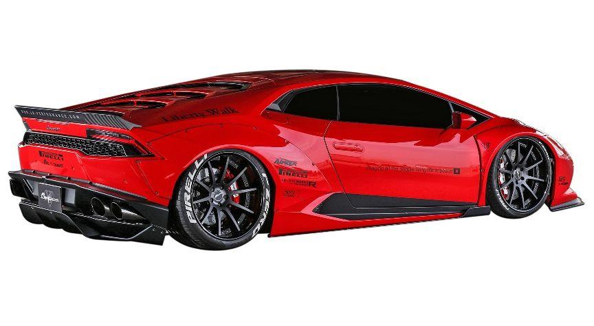 【M's】ランボルギーニ ウラカン LB☆WORKS リア ディフューザー // Lamborghini Huracan LB☆PERFORMANCE FRP Rear Diffuser リヤ R デフューザー リバティウォーク