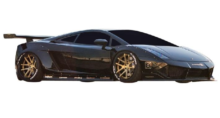 【M's】ランボルギーニ ガヤルド LB☆PERFORMANCE エアロ フロント バンパー Type.2 // F スポイラー /Lamborghini Gallard LB-WORKS Body kit リバティウォーク 新品