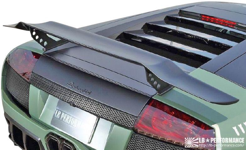 【M's】ランボルギーニ ムルシエラゴ LB PERFORMANCE エアロ / リア ウイング Ver.3 // リヤ ウィング スポイラー / LB パフォーマンス / Lamborghini Murcielago Body kit FRP リバティウォーク